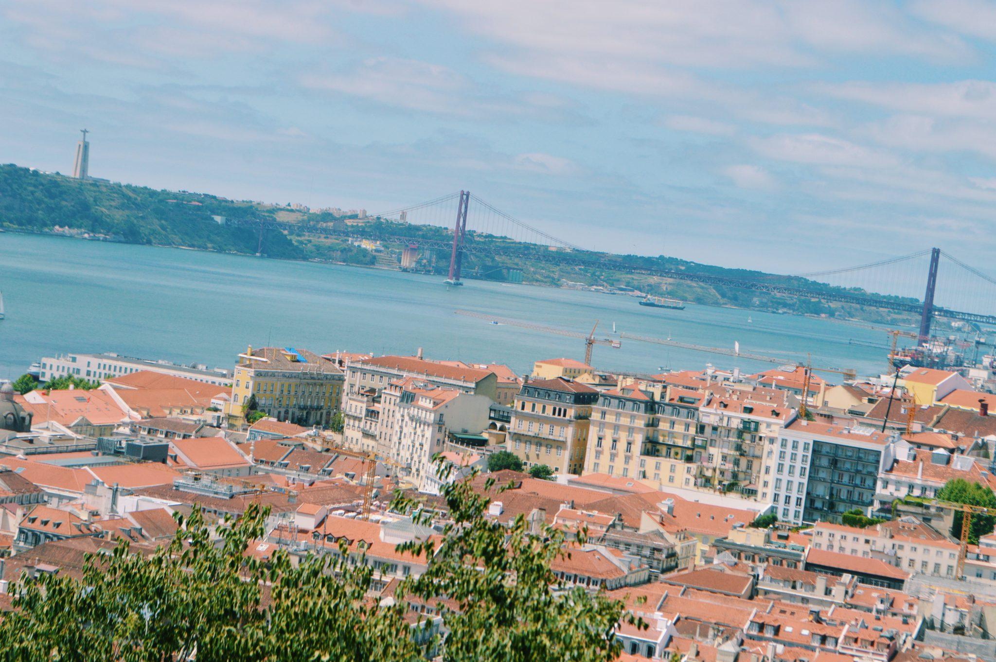 Sant Jorge Castle views