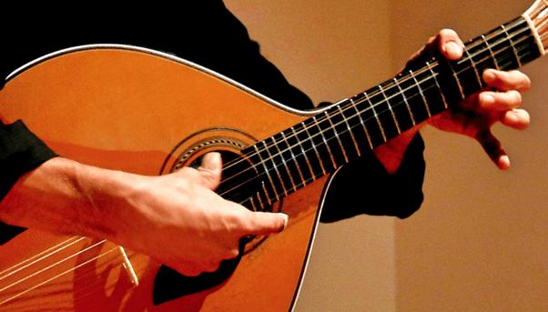 Fado music, portuguese guitar