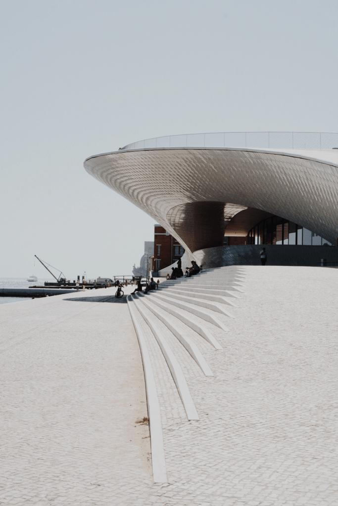 the MAAt Museum Lisbon