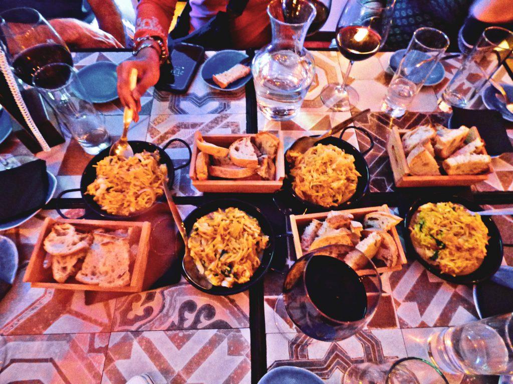 petiscos, portuguese tapas food