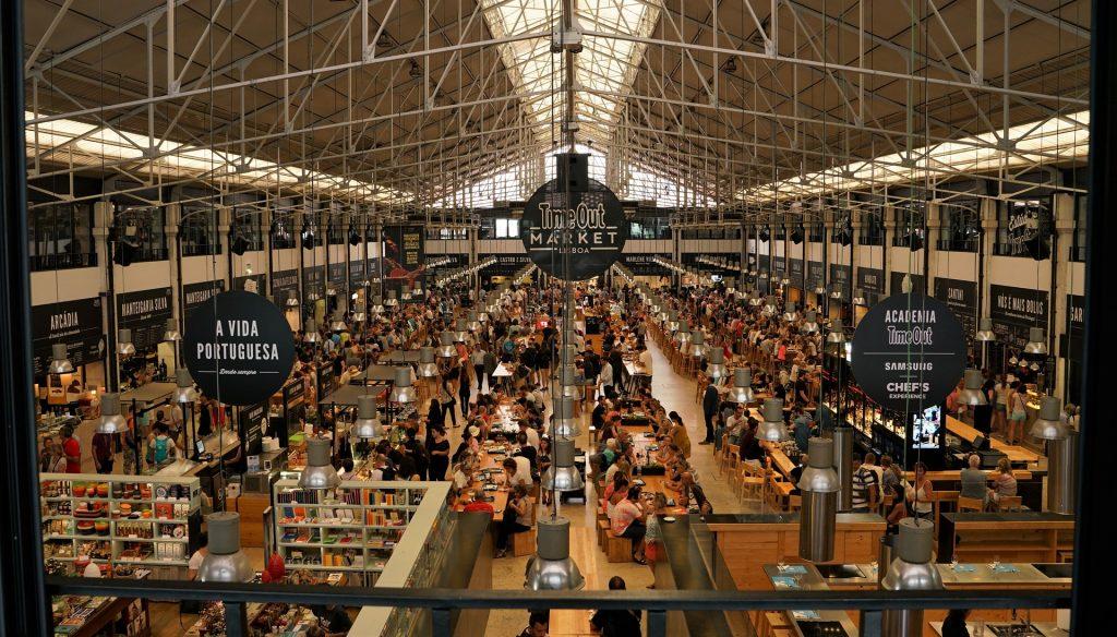 Time-Out Market Lisbon - Portuguese food