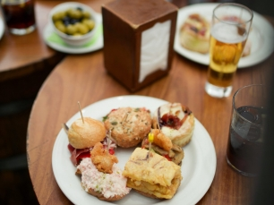 Tapas food tour